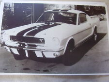 1965 FORD SHELBY GT 350  MUSTANG 11 X 17  PHOTO /  PICTURE
