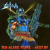 "SODOM ""TEN BLACK YEARS - BEST OF"" 2 CD NEUWARE!!!!!!!!!"