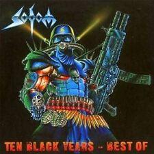 "SODOM ""TEN BLACK YEARS - BEST OF"" 2 CD NEUWARE!!!!!!!!!"