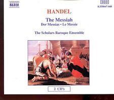 Naxos - Handel - The Messiah Der Messias Scholars Baroque Ensemble - 2CD Fat Box