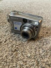 Sony Cyber-shot DSC S60 4.1 Mega Pixels Digital Camera Silver Carl Zeiss