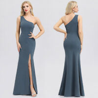 Ever-Pretty US Party Gown One Shoulder Mermaid Holiday Long Evening Dress 00943