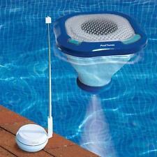 Swimline Floating Wireless Speaker Audio Swimming Pool Music Cordless LED light