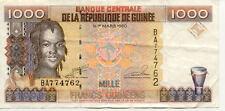 GUINEE GUINEA 1000 FRANCS 1998 état voir scan