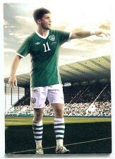 2012 Futera World Football Unique Ruby 137 Shane Long /295 Republic of Ireland