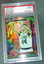 1993 93 RICK FOX REFRACTOR #182 PSA MINT 9 LOW POP 1/3 SP