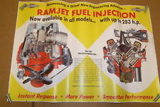 """1957 Chevy Fuel Injection Poster 23""""x 33"""""""