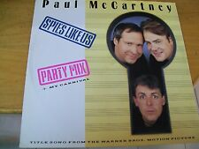 "PAUL MC CARTNEY SPIES LIKE US 12""  ITALY"