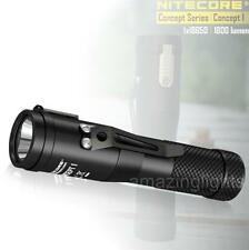 NITECORE Concept 1 (C1) 1800 Lumens LED Compact EDC Flashlight - Everyday Carry
