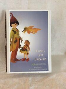 Esme's Leaf Umbrella Doll - M. Iacono - Maggie Made Dolls - 2020 UFDC - NIB