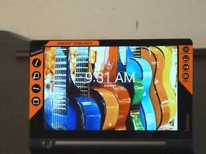 """Lenovo Yoga Tab 3 YT3-850F, 8"""", bundled Charger/USB Cable, Tested, Mint"""