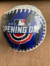 NY METS OPENING DAY COLLECTIBLE BASEBALL 2019 CITI FIELD WASHINGTON NATIONALS