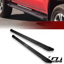 "For 2005-2019 Toyota Tacoma Double Cab 5"" Matte Black TI Aluminum Running Boards"