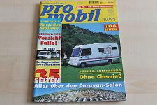 149075) Mercedes Sprinter Wohnmobil Spezial - pro mobil 10/1995