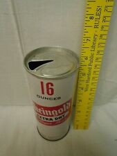 1960's Rheingold Beer 16 oz Zip-Top Can, Opened, Scarce Lid, Ex Cond