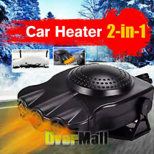 3 Fan Electric Car Heater Truck Auto Fast Heating Cooling Fan Defroster Demister
