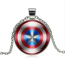 Captain America Shield Avengers Necklace Pendant