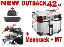 Kofferraum Trekker OBK42A Outback 42 Lt + 1146FZ Honda NC750 X 2016 + Platte +
