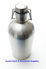 BRAND NEW Home Brew 2 Litre 304 Stainless Steel Ultimate Growler 40psi Beer
