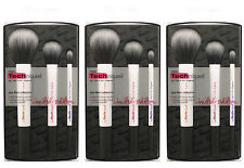 Lot of 3 Duo Fiber Collection Real Techniques Makeup Brush