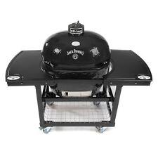 Primo Grills Jack Daniel's Edition Oval 400 XL Ceramic Grill W/ Cart & 2pc Top