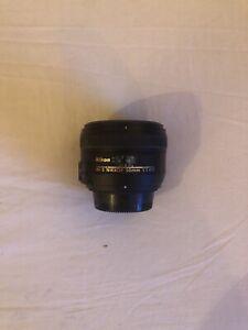 Nikon 50 mm F/1.4 SWM AF-S G M/A Objektiv