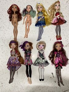 Ever After High First Chapter Doll Lot Poppy Holly Bunny Apple Briar Blondie ect
