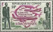 Timbre Aviation Congo PA5 ** lot 17235