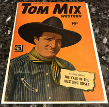 TOM MIX #29 (Fawcett) golden age comic/Slim Pickens issue, Canadian edition