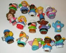 Assorted lot of 15 Fisher Price little people figures