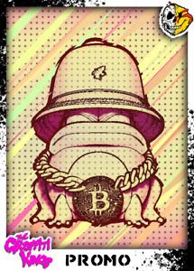 Graffiti Kings Promo Bitcoin BTC - Digital NFT Art Card - Mint #747 RARE!!