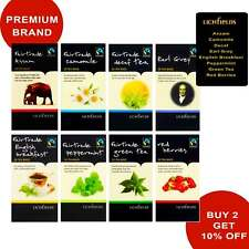 TEA BAGS 20 (40G) ASSAM CAMOMILE DECAF EARL GREY RED BERRY GREEN TEA PEPPERMINT