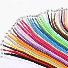 50-200cm Mehrfarbig Gewachst Rund Kordel Kleid Schnürsenkel Massengut Langlebig
