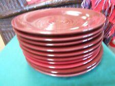 "Great ELITE Heavy Large HANDPAINTED porcelain DINNER Plates 11.5"""