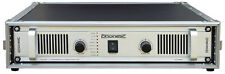 Profi PA-Endstufe im Flight Case Verstärker Amplifier 800W/ 400W (rms) brückbar