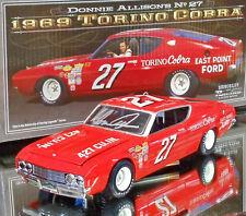 AUTOGRAPHED DONNIE ALLISON 1969 EAST POINT FORD TORINO COBRA #27 1/24 UNIVERSITY