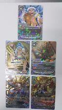 BUDDYFIGHT Dragon Chief Emperor SECRET SET DBT02/0123EN,0124,0125,0126,0127EN