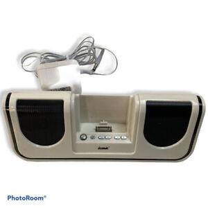 iWave Power Plug In Charging Speaker SP57051-ASTD White Music i
