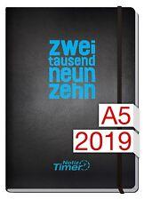 Chäff Wochen-Notiz-Timer Classic 2019 A5 Jan - Dez 2019