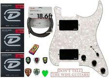 EMG KH21 Kirk Hammett 81 + 81 Pickguard (3 string set, FENDER 18FT & scegli tin)