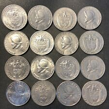 Old Guatemala Coin Lot Hard to Find Type 12 EXCELLENT Quetzals FREE SHIP