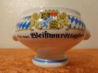 Royal Bavarian Porcelain Weißwursttopf - Bavaria Emblem - Seltmann Weiden