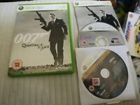 007 Quantum of Solace (Xbox 360) with collectors edition bonus disc
