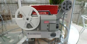 VINTAGE EUMIG 501 DUAL 8mm PROJECTOR WORKING SEE VIDEO for telecine transfer