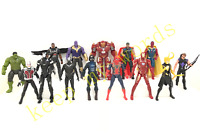 """14 pcs Movie Avengers 3 Infinity war Hero 6"""" PVC Action Figure Play Toy Loose"""