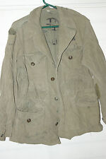 VTG US ARMY M1943 FIELD JACKET U.S ARMY ISSUE WWII RARE PRE M65 SIZE 36R OG