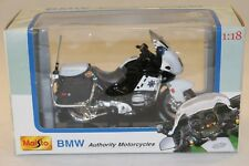 MAISTO 1/18 moto BMW R1100 RT-P California  + boite , état neuf die cast metal