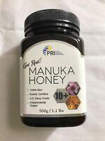 PRI Manuka Honey Multifloral, Bio Active, K Factor 10+, MGO 100+, 1.1 lb., Large