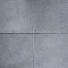 CLEARANCE 4.3 Sqm Large Black Stone Effect Porcelain Floor Tiles 60x60cm (406)