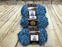 Lion Brand Yarn 3 Ocean 100% Acrylic Yarn Super Bulky Soft Knitting Crochet